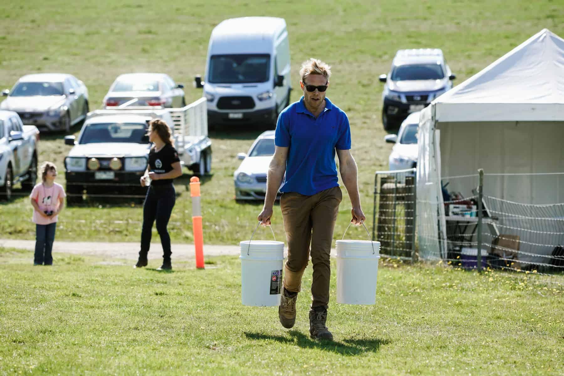 Farm World's fittest farmer competition