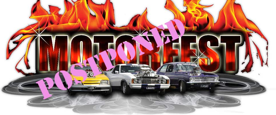 Motorfest postponed